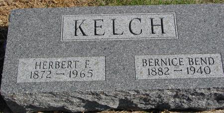 KELCH, HERBERT & BERNICE - Sac County, Iowa | HERBERT & BERNICE KELCH