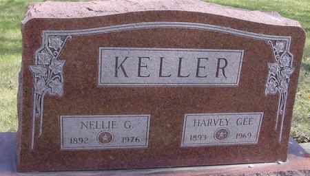 KELLER, HARVEY & NELLIE - Sac County, Iowa   HARVEY & NELLIE KELLER