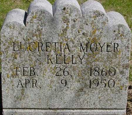 MOYER KELLY, LUCRETIA - Sac County, Iowa | LUCRETIA MOYER KELLY