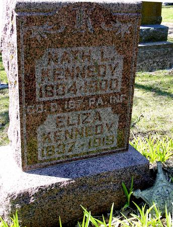 KENNEDY, NATHAN L. & ELIZA - Sac County, Iowa | NATHAN L. & ELIZA KENNEDY