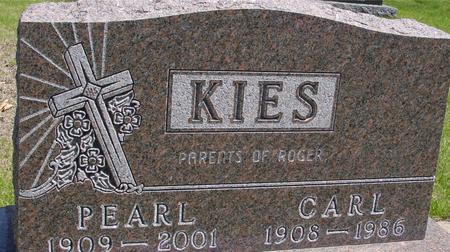 KIES, CARL & PEARL - Sac County, Iowa | CARL & PEARL KIES