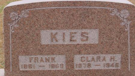 KIES, FRANK & CLARA - Sac County, Iowa | FRANK & CLARA KIES