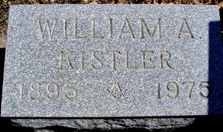 KISTLER, WILLIAM A. - Sac County, Iowa | WILLIAM A. KISTLER