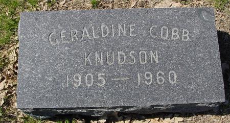 KNUDSON, GERALDINE - Sac County, Iowa | GERALDINE KNUDSON