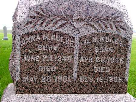 KOLBE, G. H. & ANNA M. - Sac County, Iowa | G. H. & ANNA M. KOLBE