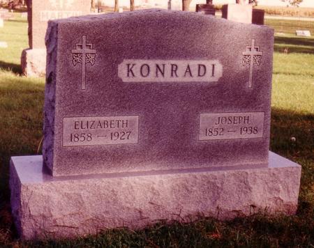 AUCHSTETTER KONRADI, ELIZABETH - Sac County, Iowa | ELIZABETH AUCHSTETTER KONRADI