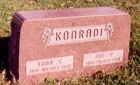 KONRADI, JOE P. - Sac County, Iowa | JOE P. KONRADI