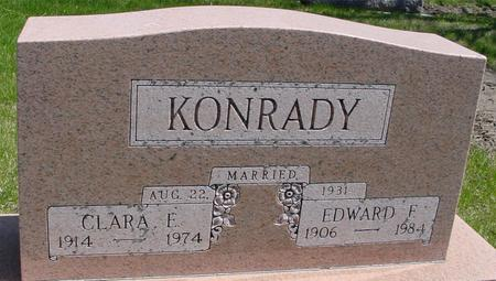 KONRADY, EDWARD F.  & CLARA - Sac County, Iowa | EDWARD F.  & CLARA KONRADY