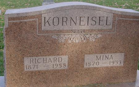 KORNEISEL, RICHARD & MINA - Sac County, Iowa | RICHARD & MINA KORNEISEL