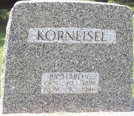 KORNEISEL, RICHARD CARL - Sac County, Iowa | RICHARD CARL KORNEISEL