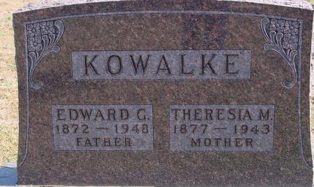 KOWALKE, EDWARD & THERESIA - Sac County, Iowa | EDWARD & THERESIA KOWALKE