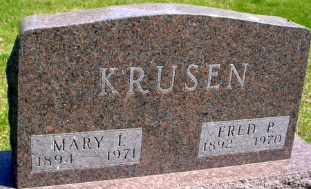 KRUSEN, FRED & MARY - Sac County, Iowa | FRED & MARY KRUSEN