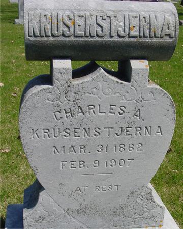 KRUSENSTJERNA, CHARLES A. - Sac County, Iowa | CHARLES A. KRUSENSTJERNA