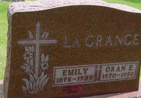 LAGRANGE, ORAN & EMILY - Sac County, Iowa | ORAN & EMILY LAGRANGE