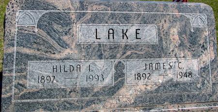 LAKE, JAMES & HILDA - Sac County, Iowa   JAMES & HILDA LAKE