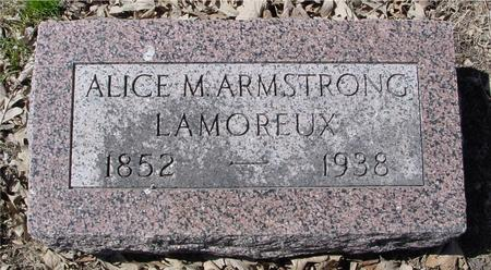 ARMSTRONG LAMOREUX, ALICE M. - Sac County, Iowa | ALICE M. ARMSTRONG LAMOREUX