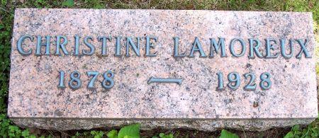 LAMOREUX, CHRISTINE - Sac County, Iowa | CHRISTINE LAMOREUX