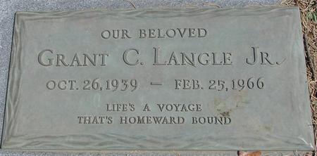 LANGLE, GRANT C.  JR. - Sac County, Iowa | GRANT C.  JR. LANGLE