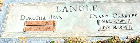 LANGLE, GRANT & DOROTHA - Sac County, Iowa   GRANT & DOROTHA LANGLE