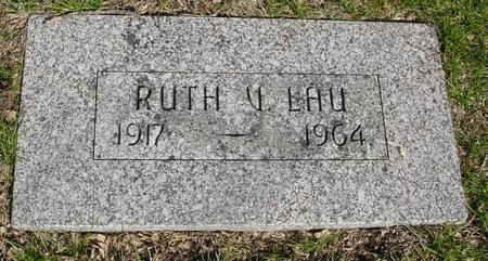 LAU, RUTH V. - Sac County, Iowa | RUTH V. LAU