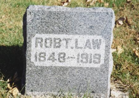 LAW, ROBERT - Sac County, Iowa | ROBERT LAW