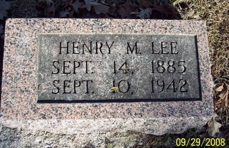 LEE, HENRY M - Sac County, Iowa | HENRY M LEE