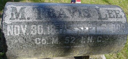 LEE, M. TRAVIS - Sac County, Iowa | M. TRAVIS LEE