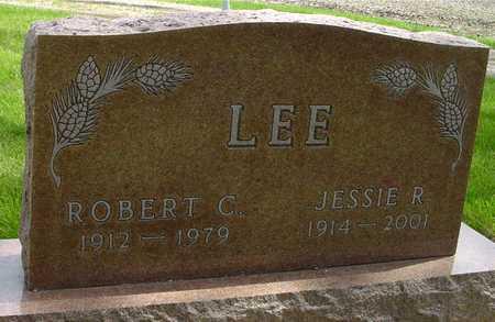 LEE, ROBERT & JESSIE R. - Sac County, Iowa   ROBERT & JESSIE R. LEE
