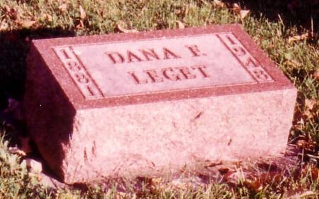 LEGET, DANA F. - Sac County, Iowa | DANA F. LEGET