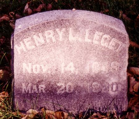LEGET, HENRY - Sac County, Iowa | HENRY LEGET
