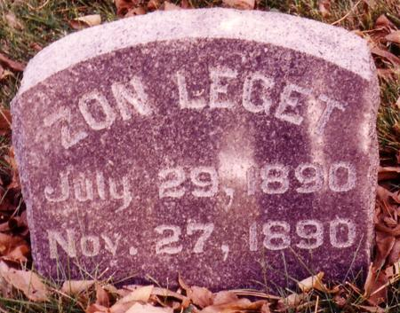 LEGET, ZON - Sac County, Iowa | ZON LEGET