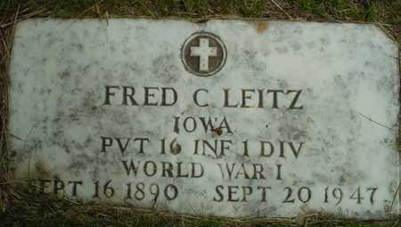LEITZ, FRED C. - Sac County, Iowa | FRED C. LEITZ