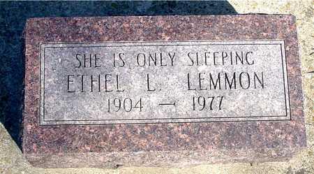 LEMMON, ETHEL L. - Sac County, Iowa | ETHEL L. LEMMON