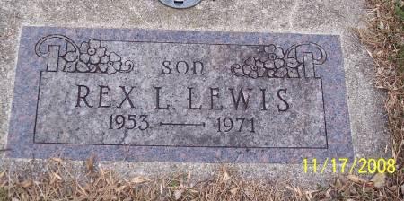 LEWIS, REX L - Sac County, Iowa | REX L LEWIS