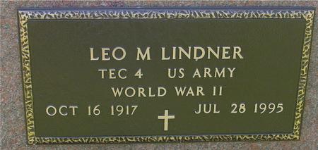 LINDNER, LEO M. - Sac County, Iowa | LEO M. LINDNER