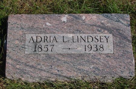 LINDSEY, ADRIA L. - Sac County, Iowa | ADRIA L. LINDSEY