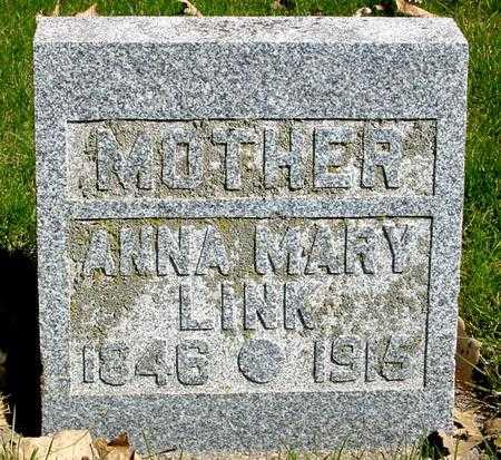 LINK, ANNA MARY - Sac County, Iowa | ANNA MARY LINK