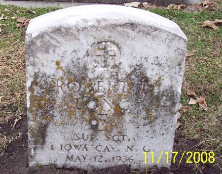LONG, ROBERT ELMER - Sac County, Iowa   ROBERT ELMER LONG