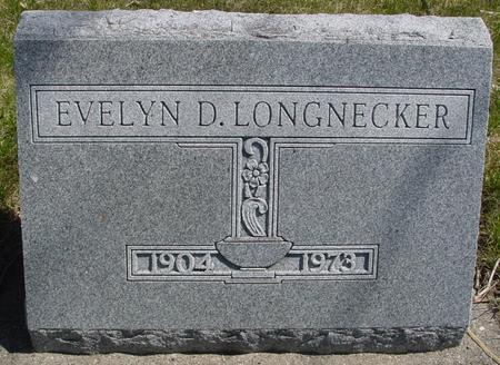 LONGNECKER, EVELYN D. - Sac County, Iowa | EVELYN D. LONGNECKER