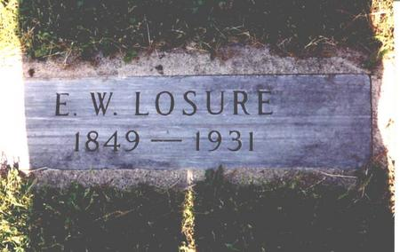 LOSURE, ENOS  WILSON - Sac County, Iowa | ENOS  WILSON LOSURE
