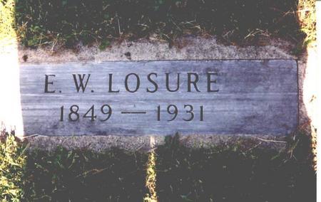 LOSURE, ENOS  WILSON - Sac County, Iowa | ENOS  WILSON LOSURE