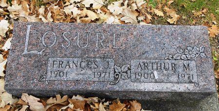 LOSURE, ARTHUR M - Sac County, Iowa   ARTHUR M LOSURE