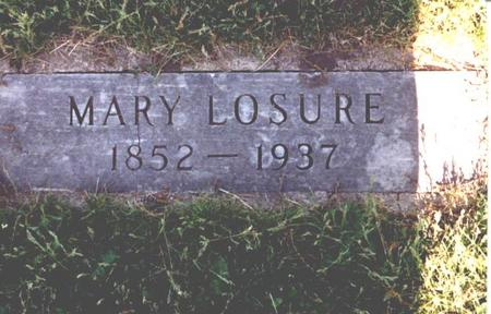 CLEVELAND LOSURE, MARY - Sac County, Iowa | MARY CLEVELAND LOSURE