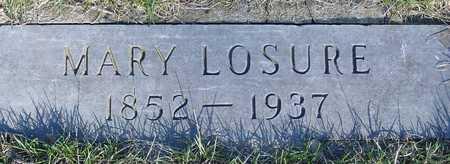 LOSURE, MARY E. - Sac County, Iowa   MARY E. LOSURE