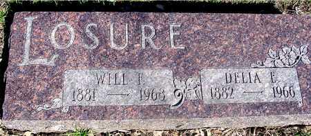 LOSURE, WILL & DELIA E. - Sac County, Iowa | WILL & DELIA E. LOSURE