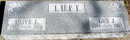 LUFT, GUS J. & OLIVE - Sac County, Iowa   GUS J. & OLIVE LUFT
