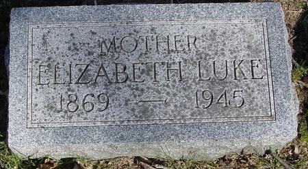 LUKE, ELIZABETH - Sac County, Iowa   ELIZABETH LUKE