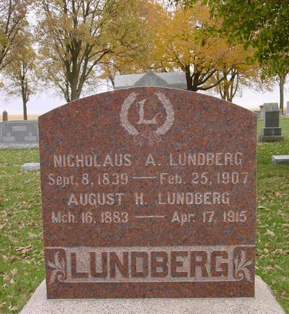 LUNDBERG, NICHOLAUS & AUGUST - Sac County, Iowa   NICHOLAUS & AUGUST LUNDBERG