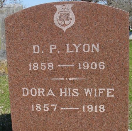 LYON, D. P. & DORA - Sac County, Iowa   D. P. & DORA LYON