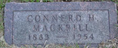 MACKRILL, CONNERD H. - Sac County, Iowa | CONNERD H. MACKRILL